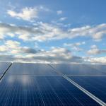 Solar roof panel